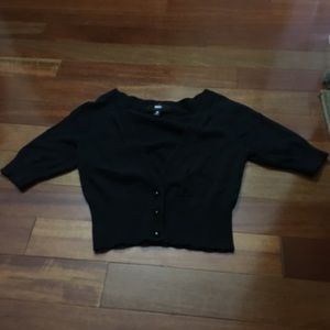Mossimo crop sweater